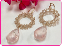Bridal Wreath Earrings
